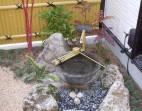 つくばいの坪庭 和風庭園 |岩国市 外構 エクステリア 造園