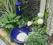 磁器 立水栓 瑠璃