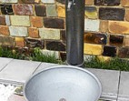 磁器 立水栓 黒