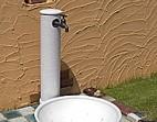 磁器 立水栓 白